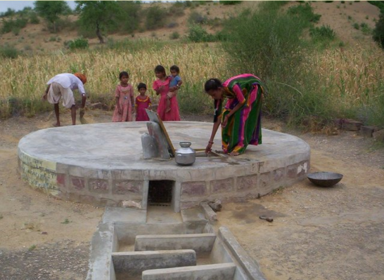Taanka or water cistern in Rajasthan, India (Source: GRAVIS, 2012)
