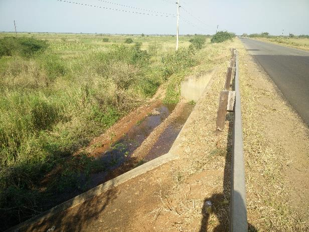Bridge sill determining water level in upstream floodplain, Mozambique