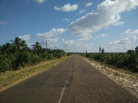 Floodway in Inhambane, Mozambique