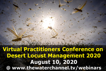 1st Virtual Practitioners Conference on Desert Locust Management 2020